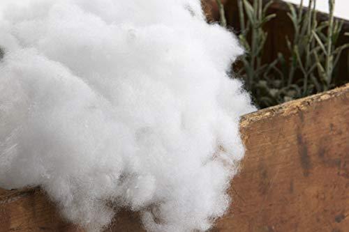 Textilhome - Relleno de Microfibra 100% Poliéster, Relleno para Peluche, Almohadas, muñecas, Cojines. El relleno viene envuelto en un forro. Bolsa de 1 kg
