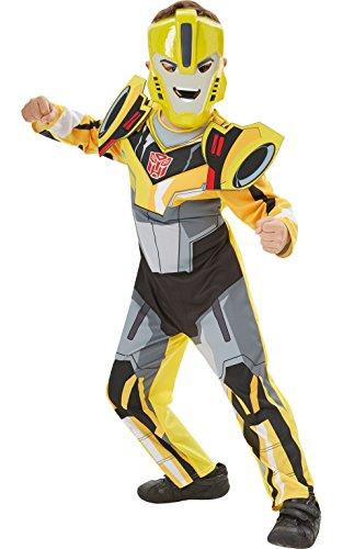 Rubie's Déguisement officiel Transformers Bumble Bee Deluxe pour garçon