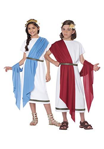 Kids Grecian Toga Costume Large