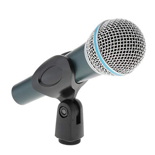 Sharplace Micrófono Dinámico Profesional con Micrófono con Cable para Grabación de Video