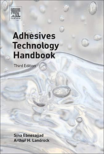 Adhesives Technology Handbook (Plastics Design Library)