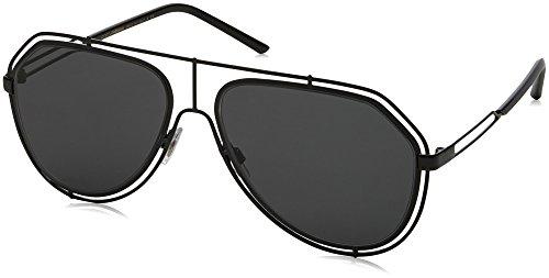 Dolce & Gabbana DG2176 Black/Grey One Size