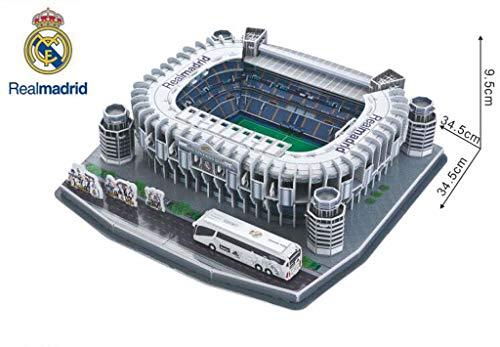 Mankvis 3D Puzzle Estadio Santiago Bernabéu Stadium Modèle,