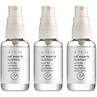 Avon nail experts líquido congelación rápida seca uñas Spray, 3 Pack (2+1), 3 x 50ml