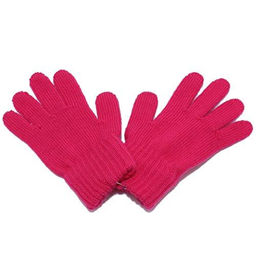 Catya 3626Y guanti bimba girl wool fuxia gloves [IV (4 YEARS)]