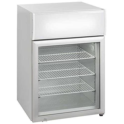 Mini armario de cocina con canopy puerta de cristal – 90 litros – R290 1 puerta cristal
