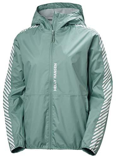 Helly Hansen Vector Packable Jacke Chaqueta para Mujer, Verde Jade, Large