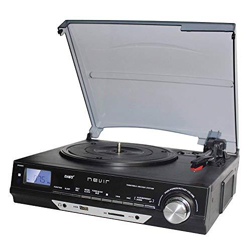 Nevir NVR-811 VMUC Tocadiscos Retro