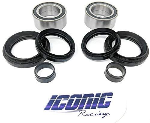Front Wheel Bearing and Seal Kits for TRX 400EX TRX 300EX TRX 300X TRX 300 TRX 250R TRX 250X Both Wheels