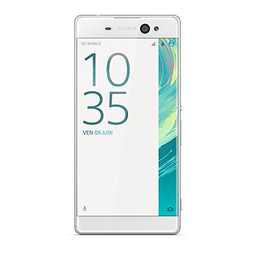 Sony 1303-0221 Xperia XA Ultra Dual SIM Smartphone (16 GB, 15,2 cm (6 Zoll), Full HD Display, Android 6.0) weiß