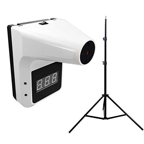 HGCF Thermomètre Mural avec trépied, thermomètre Non-Contact 0.5S Test Rapide Scanner de température Infrarouge Automatique Industriel pour Les Bureaux Factories Shops
