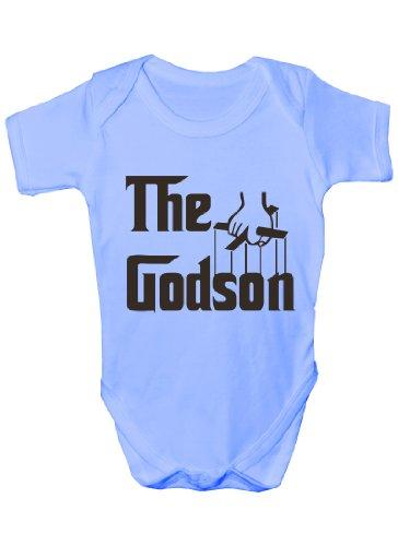 Print4U - Body - Bébé (garçon) 0 à 24 mois - Bleu - 6/12 mois