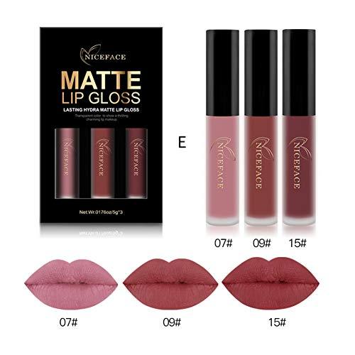 Lippenstift set Liquid Matt Lip Gloss OYOTRIC Wasserdichtes Lippenstift Langlebige Lippenstift Für Lippen Kosmetik Make-up