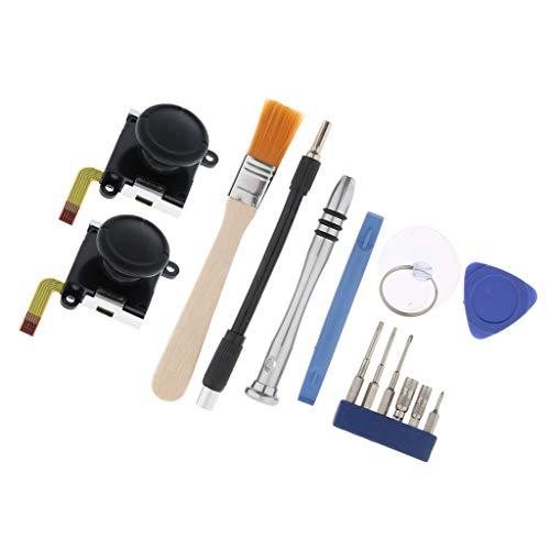balikha 14x Ersatz Analog Joystick Thumbstick Rocker Kit für Switch Joy Con