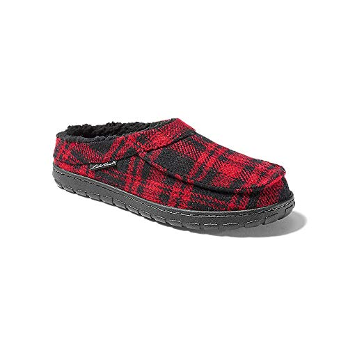 Eddie Bauer Men's Eddie Yurt Slipper, Barn Red Regular 11M