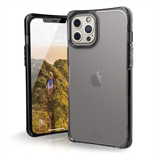 "Urban Armor Gear [U] Mouve Funda Protectora Apple iPhone 12 Pro MAX (6.7"") [Estuche Compatible Carga inalámbrica, Resistente a los choques, Parachoques Ultra Delgado] Ice (Transparente)"