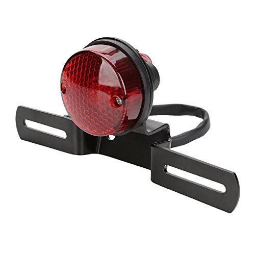 OSAN Motorrad UNIVERSAL LED Rücklicht Bremslicht Kennzeichnenleuchte mit Halter