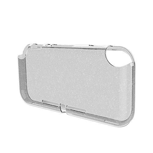 BKAUK pour Switch Etui de LiTE éClat Transparent-RéSistant nti-Collision Tout en un Couverture Souple en TPU