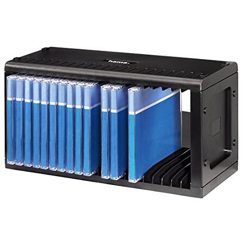 Hama 48010 - Estantería para 20 discos, negro