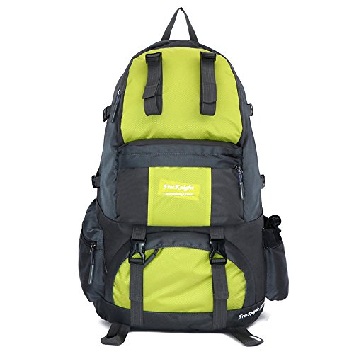 zaino sport outdoor 40L, tempo libero montagna uomini e donne campeggio escursionismo a piedi , Yellow