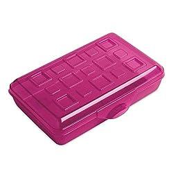 top 10 sterilite pencil box Sterilite Small Pencil Case Purple