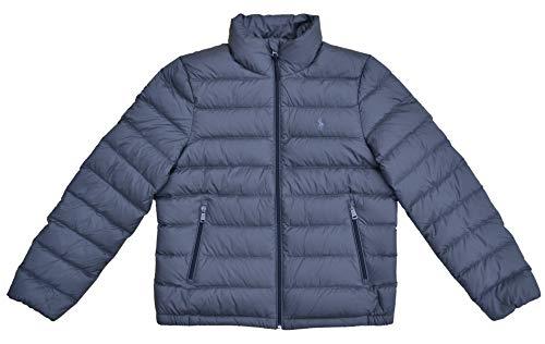 Ralph Lauren Damen Steppjacke Daunenjacke Jacke Down Jacket Grau (L)