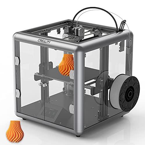 LLYX 3D Printer CREALITY Ender All-Metal Extrusion All-Metal Extrusion 3D Printer Under Transparent Design (Sermoon D1)