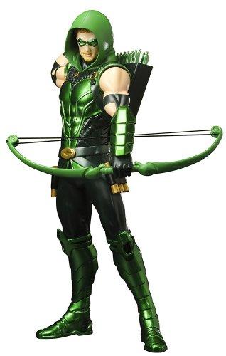 DC Comics New 52Versión Verde Flecha ARTFX Estatua