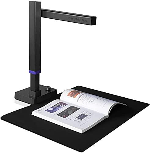 CZUR Shine Ultra Scanner per Documenti, Scanner per Libri Portatile Regolabile Document Camera A3&A4 con 13MP AI Tecnologia Curva di Appiattimento Automatico OCR 180+ Lingue per Windows Mac