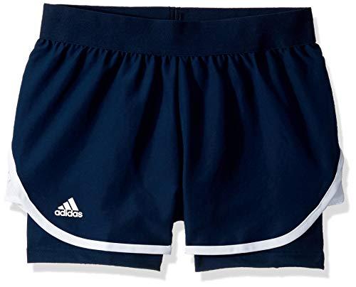 adidas Club-Shorts für Mädchen, Mädchen, Shorts, Club Tennis Short, Collegiate Marineblau, XX-Small