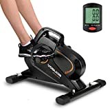 YOSUDA Under Desk Bike Pedal Exerciser - Magnetic Mini Exercise Bike for Arm /Leg Exercise, Desk Pedal Bike for Home/ Office Workout