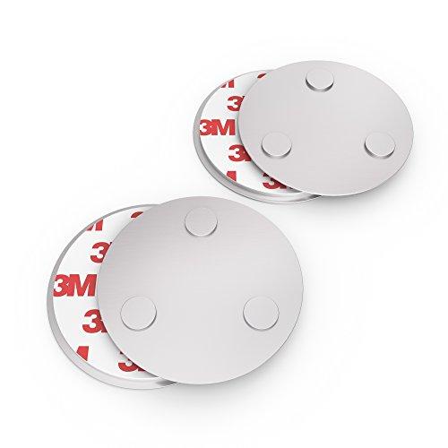 conecto CC50471 Magnethalterung Magnetbefestigung universell magnetisch für Rauchmelder Warnmelder...