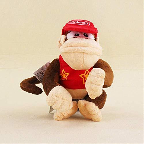Peluches - 14-19cm Dos Estilos Super Mario Bros Monkey Donkey Kong Y Diddy Kong Peluches Diddy Kong