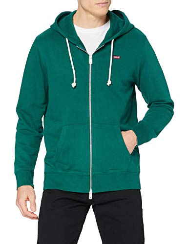 Levi's Zip Up Sudadera, Forest Biome, M para Hombre
