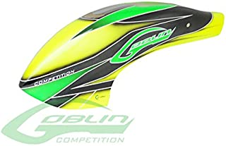 SAB Heli Division SAB Canomod Airbrush Canopy Yellow/Green - Goblin 700 Competition [H0357-S]