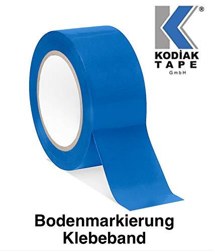 1 Rolle Bodenmarkierungsband Klebeband PVC Warnklebeband 50mm x 30m - BLAU (0,3333 EUR/m)