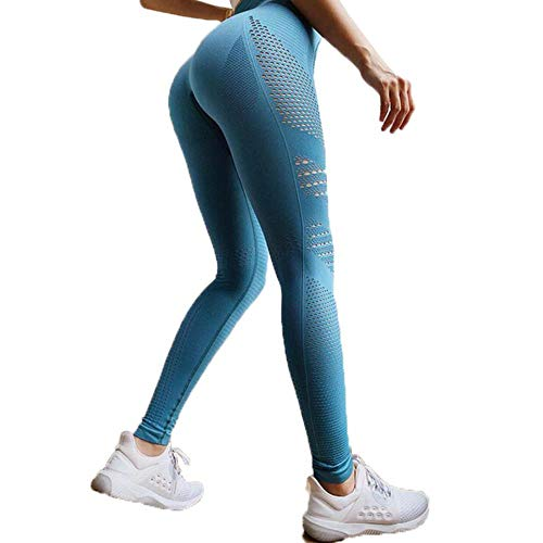 Pantalones de Yoga para Mujer,❤️ Absolute Las Mujeres de la Cintura Yoga Yoga Leggings Running Gym Stretch Sports Pants Trousers