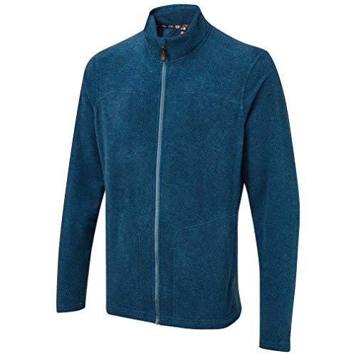 SHERPA ADVENTURE GEAR Men's Rolpa Full Zip Fleece Jacket, Raja Blue, Large