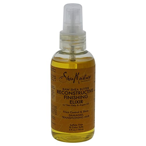 Shea Moisture Rsb Reconst Finish Elixir 118 ml/4Oz 118 ml