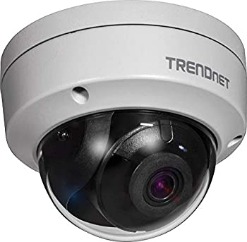TRENDnert Indoor/Outdoor 4MP H.265 120dB WDR PoE Dome Network Camera,TV-IP1315PI IP67 Weather Rated Housing Smart Covert IR Night Vision up to 30m  98 ft  microSD Card Slot