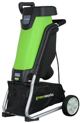 Best Review Of Greenworks 15 Amp Corded Shredder & Chipper 24052