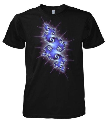 Geek Fractal Life, Mandelbrot 701307 Herren T-Shirt 001 XL