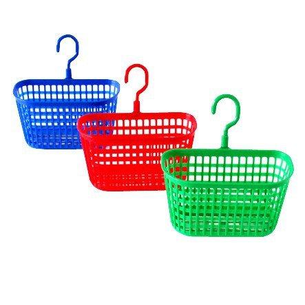 Wäscheklammerkörbchen farbig sortiert