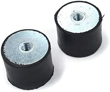My MIRONEY M8 Thread Female Rubber Mounts 40mm x 30mm Anti Vibration Rubber Mount Isolator Pack product image