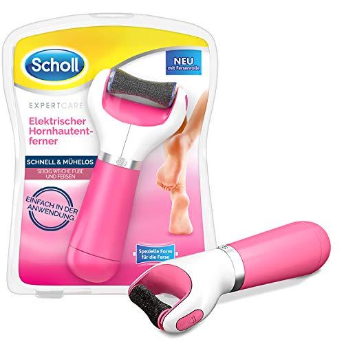 Scholl Velvet Smooth elektrischer Hornhautentferner Express Pedi - Mit extra starker Rolle für präzise Ergebnisse, 200 g