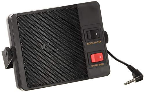 Albrecht Externer Lautsprecher CB 905 mit eingebautem Filter Code 7120, schwarz