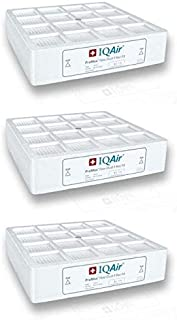 IQAir Genuine Original PreMax Pre-Filter F8 3-Pack [Dust, Pollen, Pet Dander & Mold Spores] Swiss Made