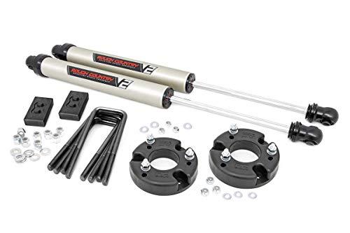 Rough Country 2' Leveling Lift Kit (fits) 2009-2020 F150 | V2 Monotube Shocks | Suspension System | 52270