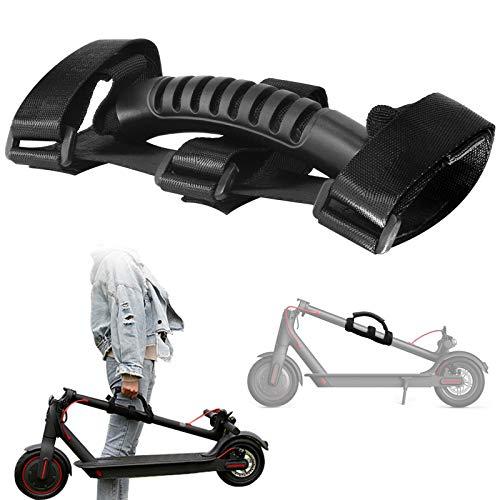 Cintura per Scooter Elettrico, Lavoro Risparmio Maniglia Bendaggio per Xiaomi Mijia M365 Maniglia a Pedale Portatile, Monopattino Maniglia per Scooter Elettrico (Nero)