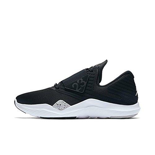 Nike Herren Jordan Relentless Schwarz Mesh Trainingsschuhe 43
